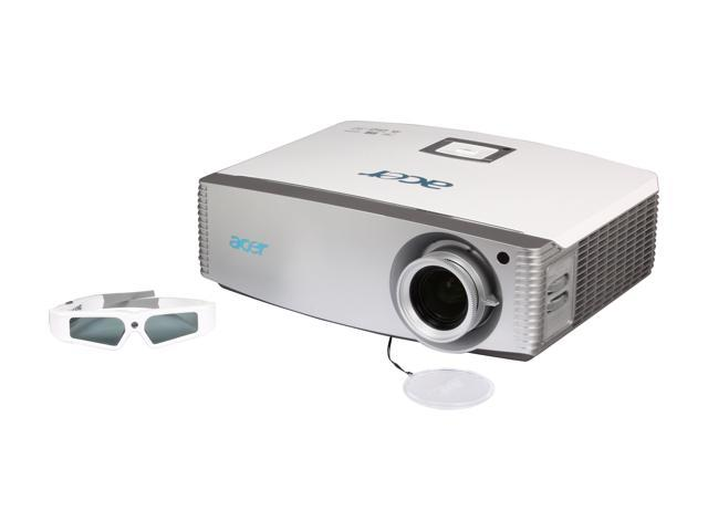 Acer H9500BD 2000 Lumens 1080P Full HD 3D Home Theater DLP Projector w/ HDMI & USB
