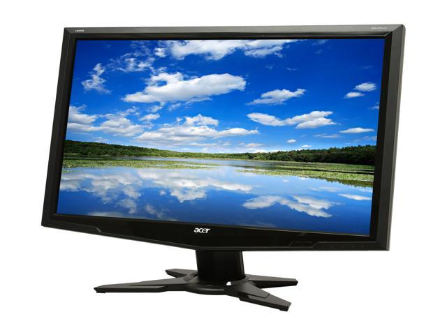 "Acer G245HQAbmid Black 23.6"" 5ms Widescreen LCD Monitor Built-in Speakers"