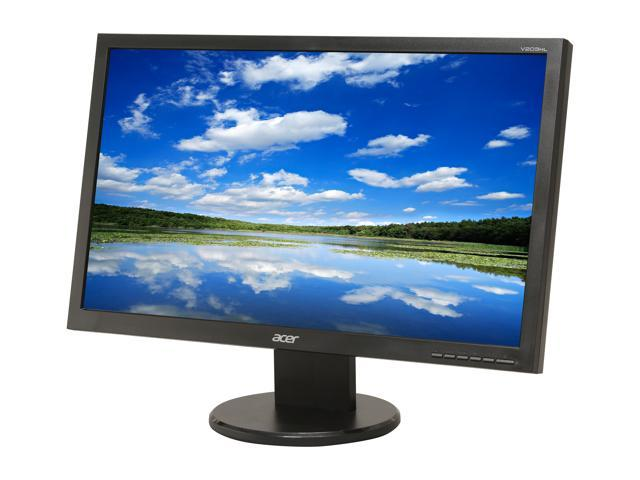 "Acer UM.DV3AA.B01 V203HLBJObd Black 20"" 5ms Widescreen LED Backlight LCD Monitor"