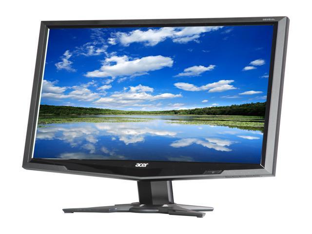 Acer G245HQLbd  Black 23.6