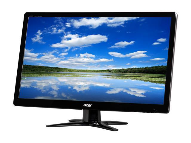 Acer G6 Series G236HLBbd Black 23