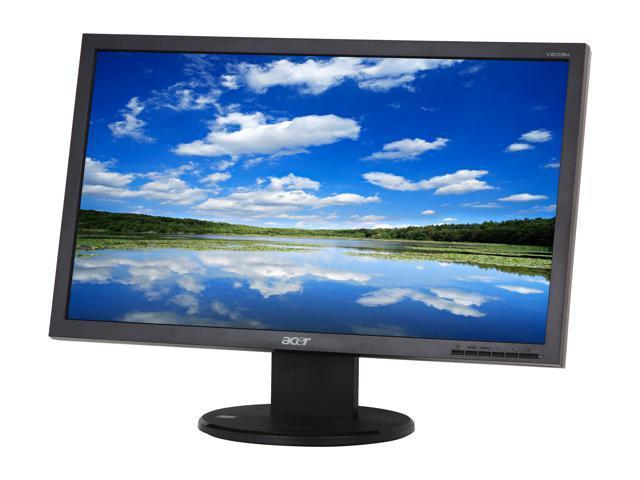 """Acer V203HCJbmd (ET.DV3HP.C04) Black 20"""" 5ms Widescreen LCD Monitor Built-in Speakers"""