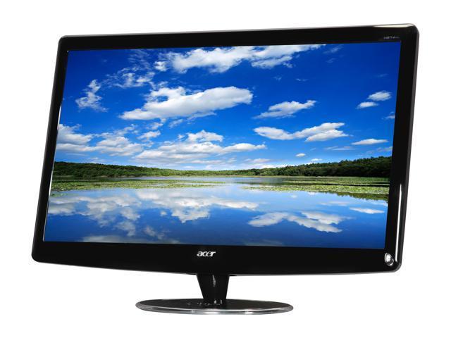 Acer H274HLBMID Black 27