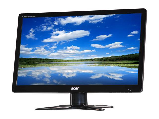 "Acer G206HLBbd (UM.DG6AA.B01) Black 20"" 5ms Widescreen LED Backlight LCD Monitor"