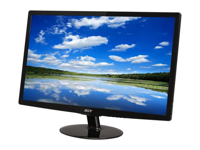 """Acer S242HLbid (ET.FS2HP.001) Black 24"""" 5ms Widescreen LED Backlight LED Monitor"""