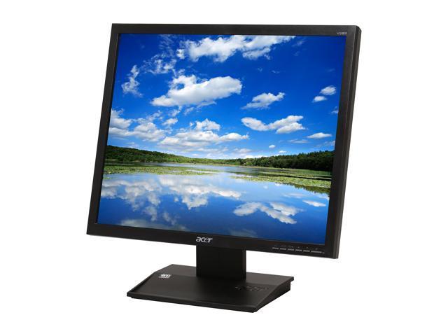 """Acer V Series V193DJB (ET.CV3RP.D03) Black 19"""" 5ms LCD Monitor"""