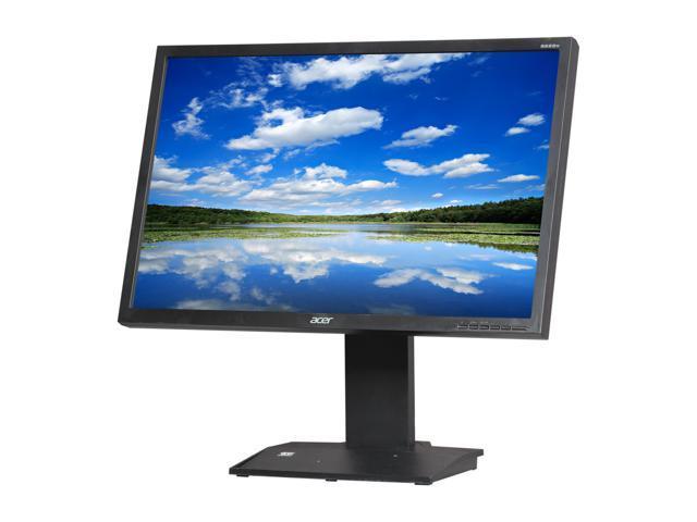 "Acer B223WGJbmdr (ET.EB3WP.G01) Black 22"" 5ms Widescreen LCD Monitor Built-in Speakers"