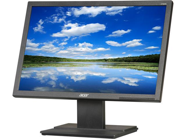 "Acer V196WLbd (UM.CV6AA.002) Black 19"" 5ms Widescreen LED Backlight Monitor"