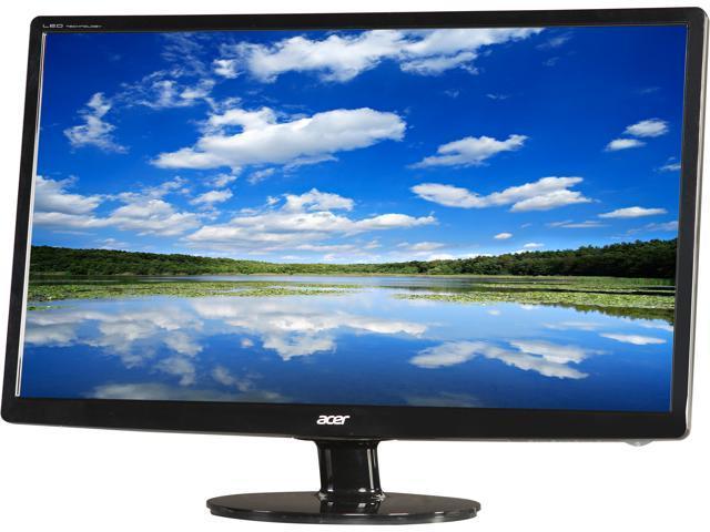 Acer S241HL bmid (UM.FS1AA.001) Black 24
