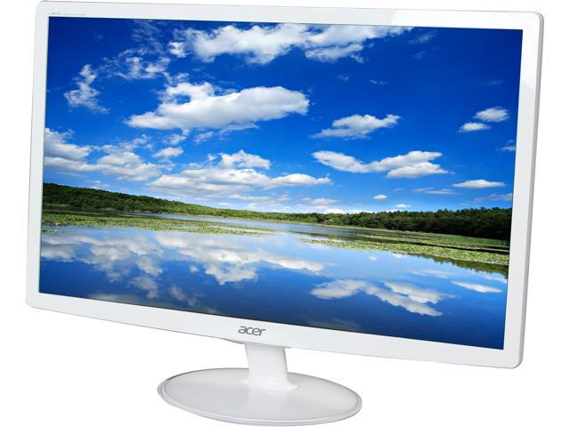 "Acer S2 S242HLBwid White 24"" 5ms Widescreen LED Backlight Monitor"