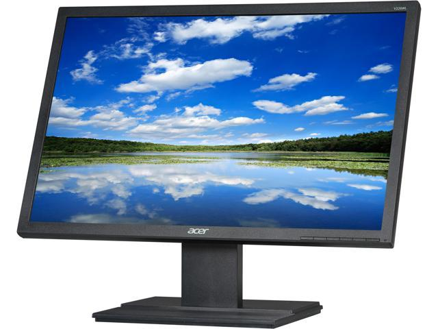 "Acer V226WL Black 22"" 5ms Widescreen LED Backlight LCD Monitor"