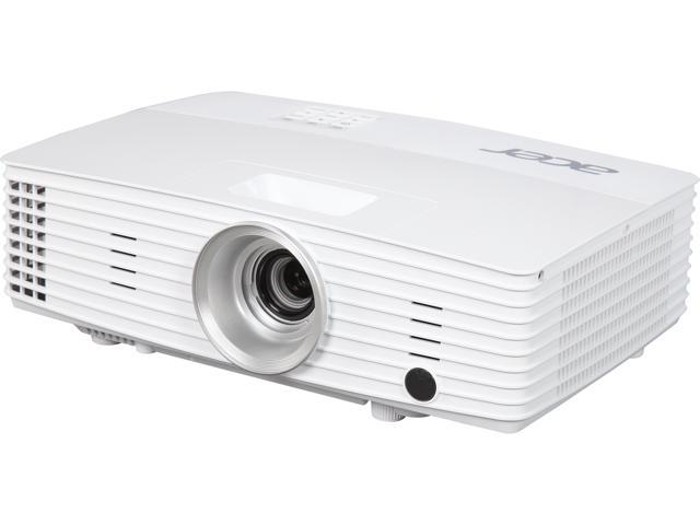 Acer X1385WH WXGA 1280,1280 x 800, 3,200 ANSI Lumens 20,000:1 Contrast Ratio, 3W Speaker DLP Projector, Ceiling Mountable, Wireless Compatible, D-Sub x 2/Mini DIN/HDMI