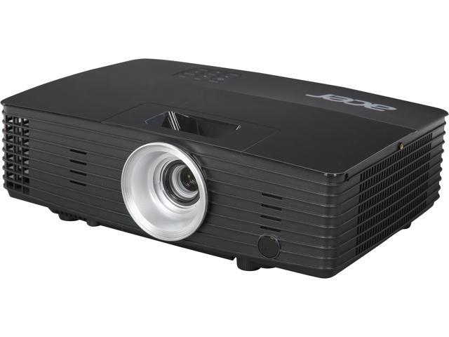 Acer P1285 XGA 1024 x 768, 3,200 ANSI Lumens 2000:1 DLP Projector with 10W Speaker, Ceiling Mountable, Wireless Compatible, USB (Mini-B) x 1/ (D-sub) x 1
