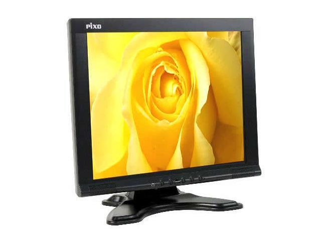 "NESO PIXO A700 Black 17"" 16ms LCD Monitor Built-in Speakers"