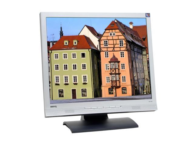 """BenQ FP72E Silver-Black 17"""" 8ms LCD Monitor Built-in Speakers"""