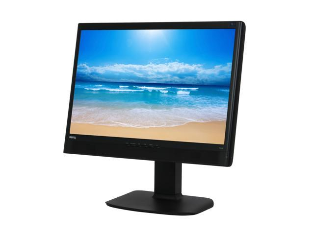 """BenQ T241W Black 24"""" 5ms Widescreen LCD Monitor with Height & Pivot Adjustments Built in Speakers Built-in Speakers"""