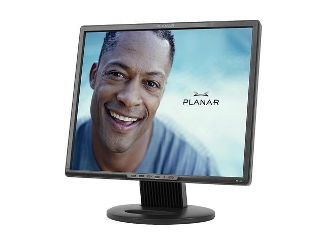 "PLANAR PL1900 Black 19"" 5ms LCD Monitor"