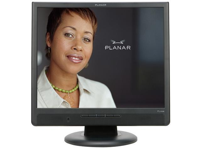 "PLANAR PL1910M Black 19"" 5ms LCD Monitor Built-in Speakers"