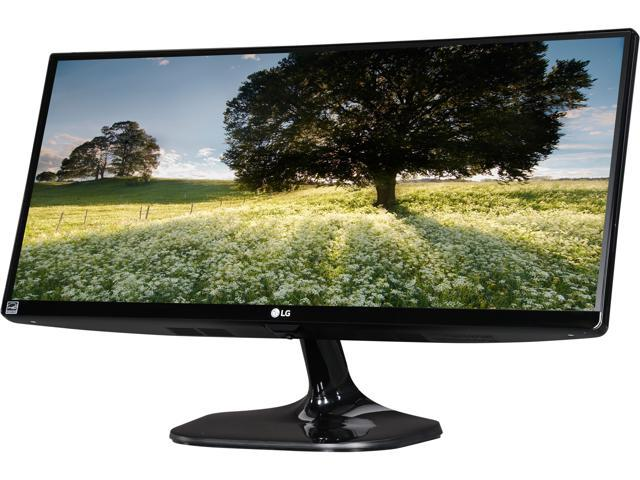 "LG 25UM56-P 25"" Class 21:9 UltraWide IPS Gaming Monitor 5ms 2560 x 1080 5ms GTG 60Hz 5,000,000:1 Contrast Ratio with Black Stabilizer and Dynamic Action Link, SRGB Over 99% and 4-Screen Split"