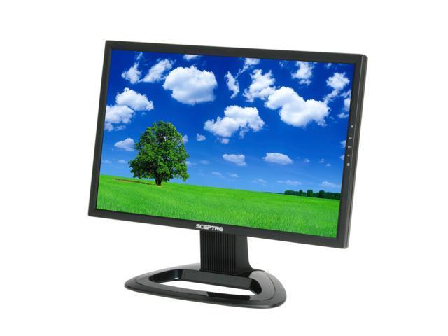"SCEPTRE X22WG-1080P Black 22"" 2ms(GTG) Widescreen LCD Monitor Built-in Speakers"