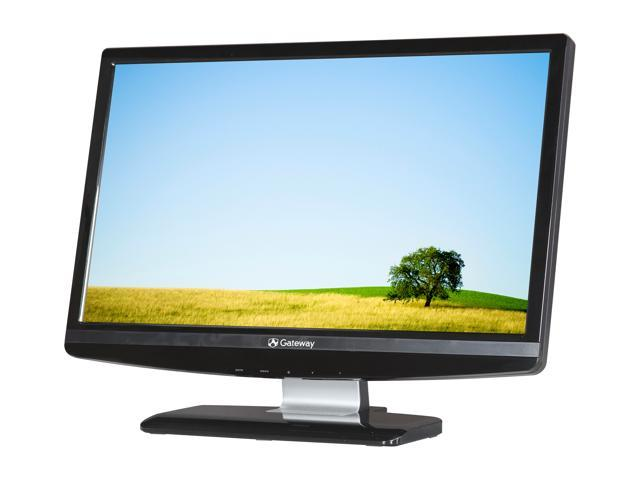 "Gateway HX2001L bmd (ET.DW1HP.001) Black 20"" 5ms Widescreen LED Backlight LED Backlight LCD Monitor Built-in Speakers"