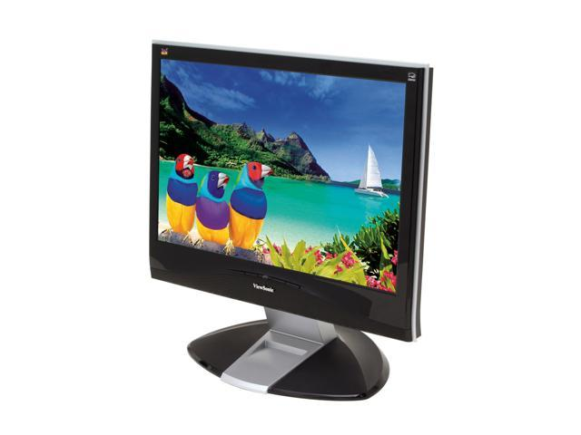 """ViewSonic X Series VX2035WM Piano Black-Silver 20"""" 5ms Widescreen LCD Monitor Built-in Speakers"""