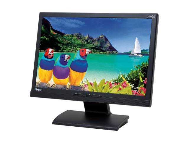 "ViewSonic Optiquest Series Q22wb Black 22"" 5ms Widescreen LCD Monitor"