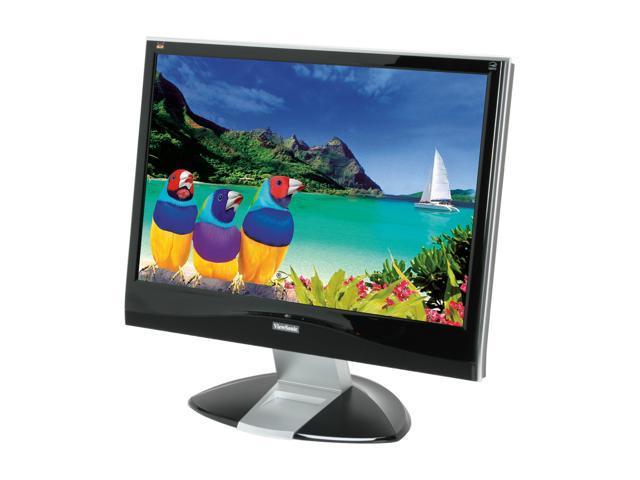 "ViewSonic X Series VX2435WM Piano Black 24"" 20ms(typ), 8ms(GTG) Widescreen FULL HD 1080p HDMI (w/HDCP) LCD Monitor Built-in ..."