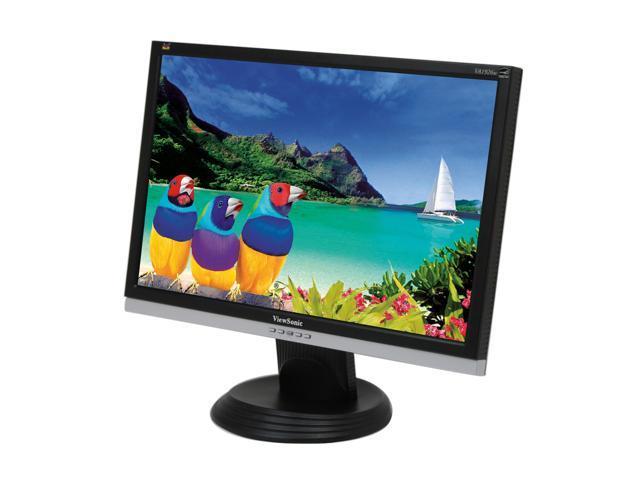 "ViewSonic Value Series VA1926w Black-Silver 19"" 5ms Widescreen LCD Monitor"