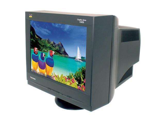 "ViewSonic G90FB Black 19"" CRT Monitor"