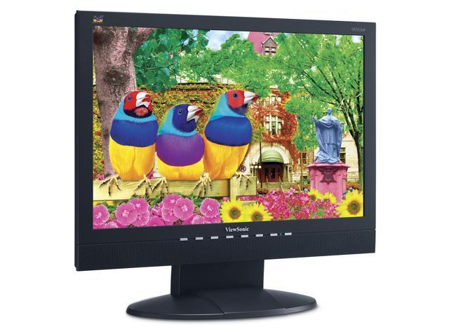 """ViewSonic Value Series VA1912wb Black 19"""" 5ms Widescreen LCD Monitor Built-in Speakers"""