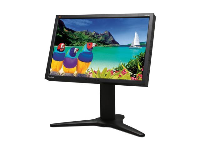 """ViewSonic Pro Series VP2655wb Black 26"""" (25.5"""" viewable) Widescreen LCD Monitor 4-port USB hub"""