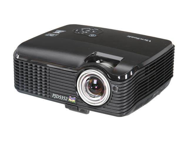 ViewSonic PJD5352 XGA 1024x768 2600 Lumens 3D Ready Short Throw DLP Projector