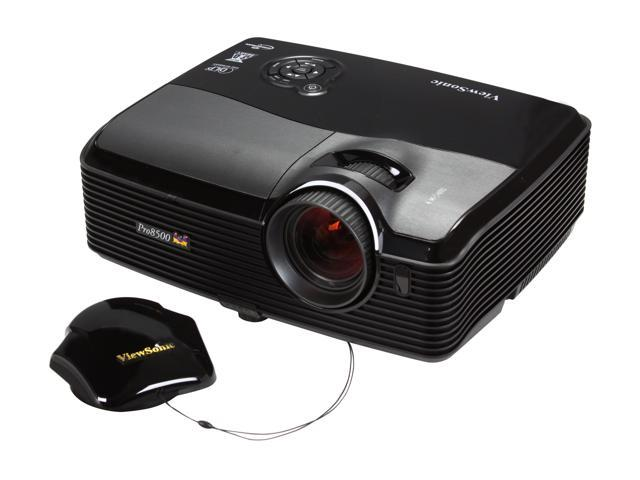 ViewSonic PRO8500 XGA 1024x768 5000 Lumens Home Theater DLP Projector