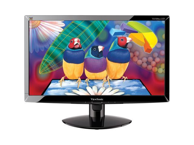 "ViewSonic Black 19"" 5ms LED Backlight LCD Monitor"