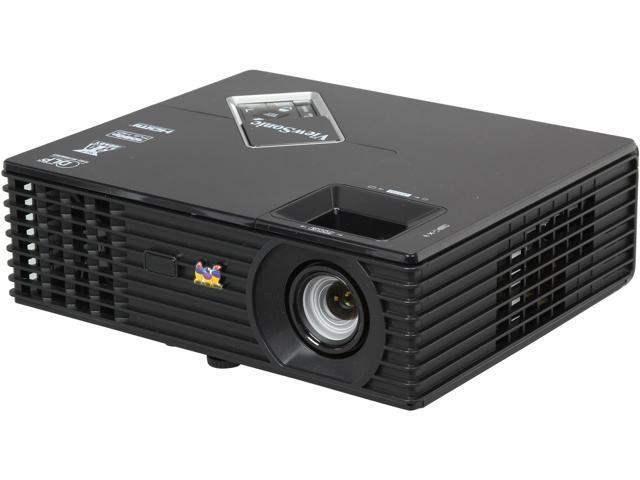 ViewSonic PJD7820HD 1920 x 1080 FHD 3000 ANSI Lumens, Up to 120Hz Refresh Rate, HDMI / Dual VGA Inputs, Auto Keystone Correction, 3D Ready DLP Projector