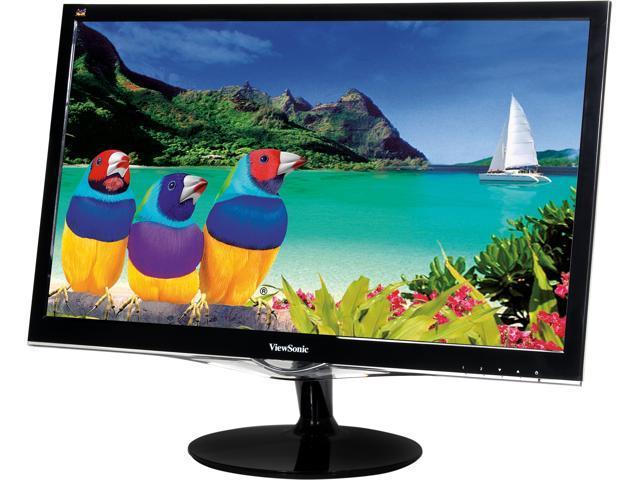 ViewSonic VX2452mh Black 23.6