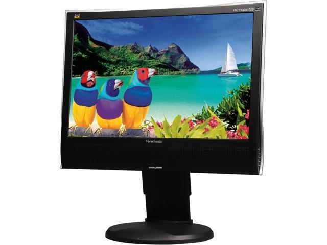 ViewSonic VG1932WM-LED-12 Black 19