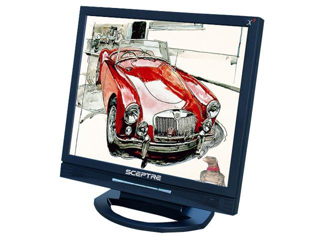 "SCEPTRE X9g-Komodo V Black 19"" 8ms LCD Monitor Built-in Speakers"