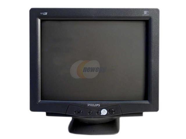 """PHILIPS 107B55 17"""" CRT Monitor"""