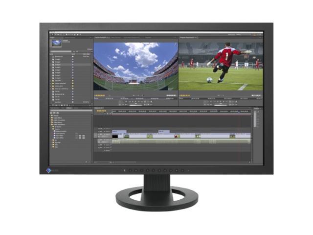 "EIZO SX2462W-BK Black 24"" 5ms Widescreen LCD Monitor"