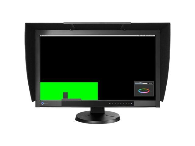 "EIZO CG276-BK Black 27"" 6 ms (GTG) Widescreen LCD Monitor IPS with Calibration Sensor Built-in Speakers"