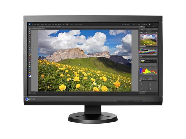"EIZO Black 23"" 10.50 ms LCD Monitor Built-in Speakers"