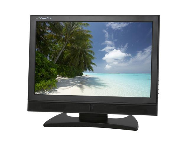 """ViewEra V195MV Black 19"""" 5ms Widescreen LCD Monitor Built-in Speakers"""