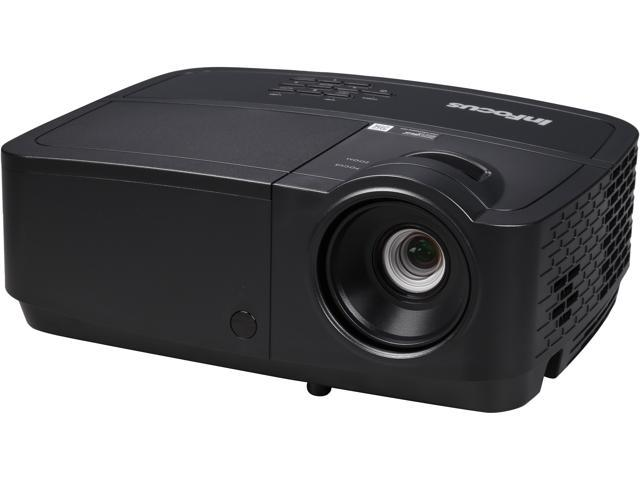 InFocus IN116x 1280 x 800 WXGA 3200 Lumens, Contrast Ratio 15000:1, HDMI Connections, 2W Speaker, Instant on/off, DLP 3D Ready Projector