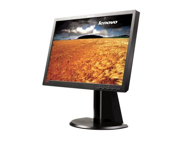 "lenovo Black 22"" 5ms LCD Monitor"