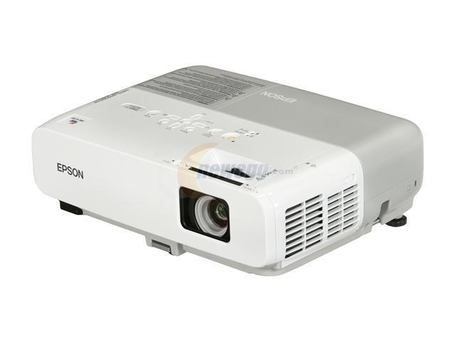 EPSON PowerLite 825+ Multimedia 3LCD Projector w/Network