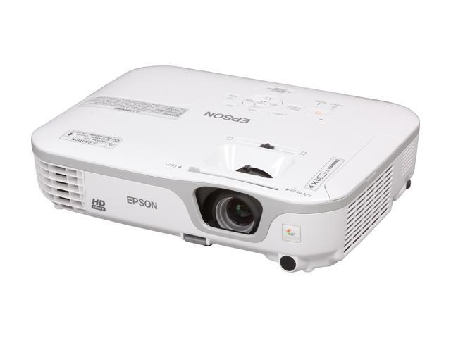 EPSON V11H475020 LCD PowerLite Home Cinema 710HD Home Theater Projector