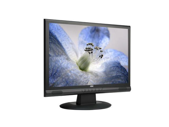 "AOC 22LVWk Black 22"" 5ms Widescreen LCD Monitor Built-in Speakers"