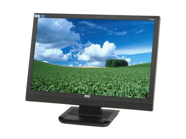 "AOC 2216SW Black 21.6"" 5ms Widescreen LCD Monitor"